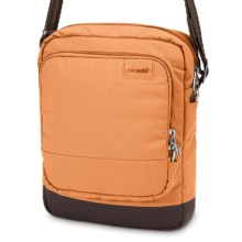 Pacsafe Citysafe LS150 Shoulder Bag in Apricot - Closeouts