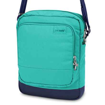 Pacsafe Citysafe® LS150 Shoulder Bag in Lagoon - Closeouts