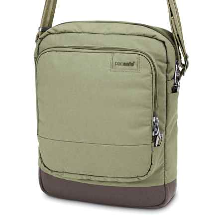 Pacsafe Citysafe® LS150 Shoulder Bag in Rosemary - Closeouts