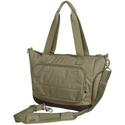 Pacsafe Citysafe® LS400 Anti-Theft Travel Tote Bag in Rosemary - Closeouts