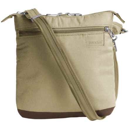 Pacsafe Citysafe® LS50 Crossbody Purse in Rosemary - Closeouts