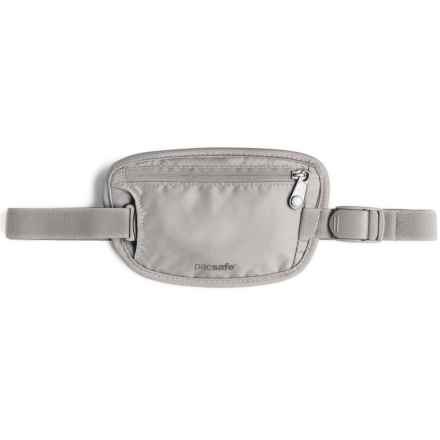Pacsafe Coversafe 25 Secret Waist Wallet in Grey - Closeouts