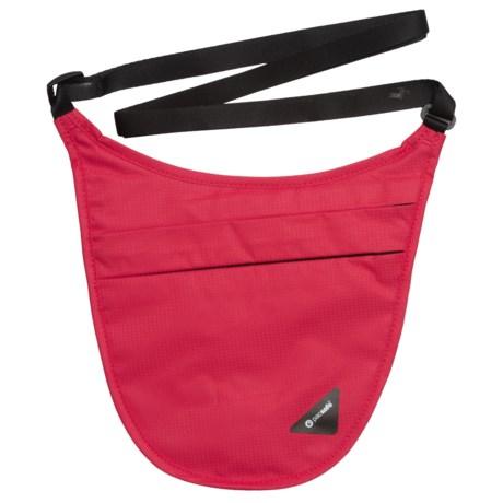 Pacsafe Coversafe V150 RFID-Blocking Holster Bag in Chili