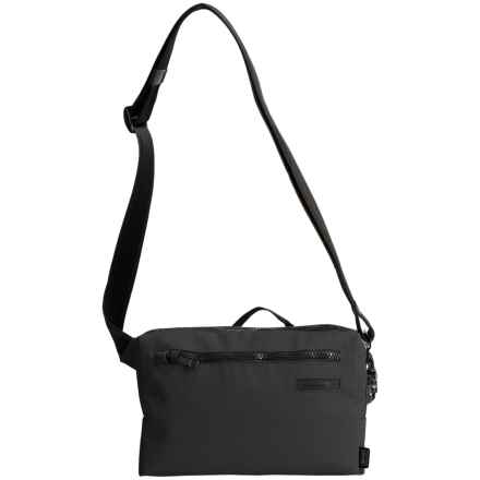 Pacsafe Intasafe Z100 Crossbody Bag in Charcoal - Closeouts