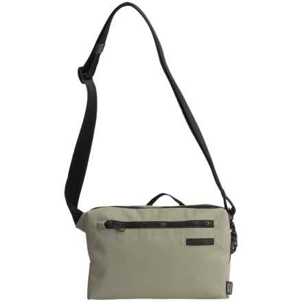 Pacsafe Intasafe Z100 Crossbody Bag in Slate Green - Closeouts