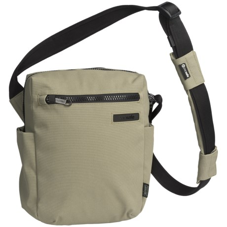 Pacsafe Intasafe® Z300 Anti-Theft Tote Bag - RFIDsafe in Slate Green