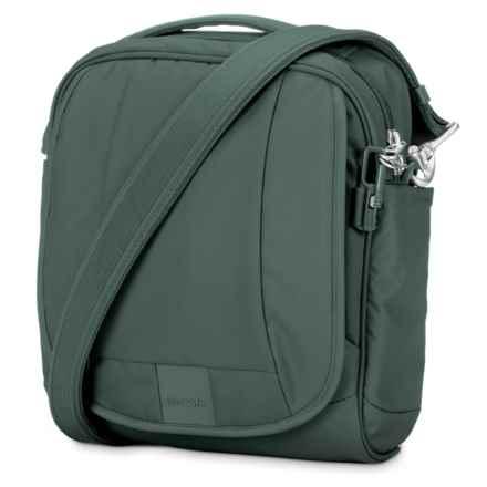 Pacsafe Metrosafe® LS200 Anti-Theft Medium Crossbody Bag in Pine Green - Closeouts