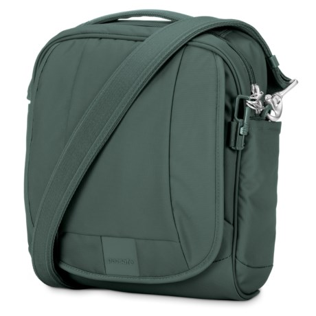 Pacsafe Metrosafe® LS200 Anti-Theft Medium Crossbody Bag in Pine Green