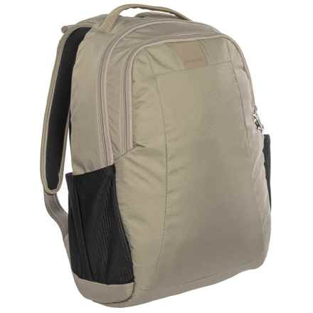 Pacsafe Metrosafe LS350 Anti-Theft 15L Backpack in Sandstone - Closeouts