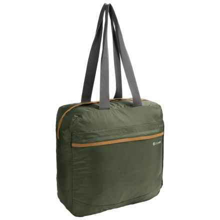 Pacsafe Pouchsafe PX25 Anti-Theft Packable Tote Bag in Olive/Khaki - Closeouts