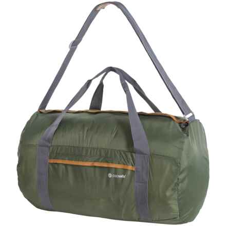 Pacsafe Pouchsafe PX40 Anti-Theft Packable Duffel Bag in Olive/Khaki - Closeouts