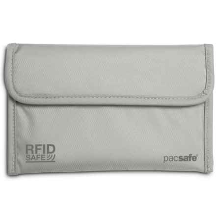 Pacsafe RFIDsafe 50 Passport Protector in Grey - Closeouts