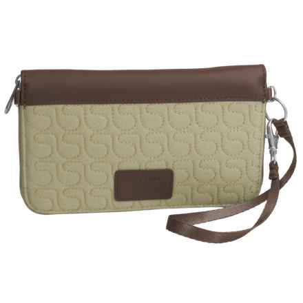 Pacsafe RFIDsafe W200 Blocking Travel Wallet in Rosemary - Closeouts