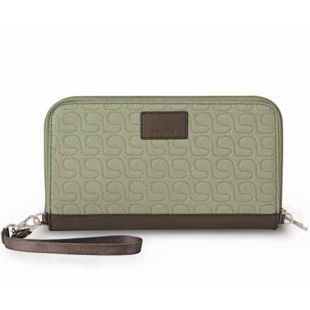 Pacsafe RFIDsafe W250 Blocking Organizer Wallet in Rosemary - Closeouts