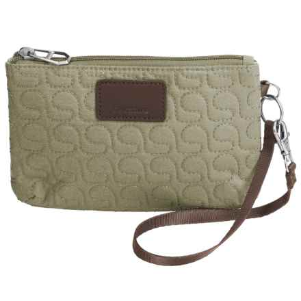 Pacsafe RFIDsafe W75 Blocking Pouch Wallet in Rosemary - Closeouts
