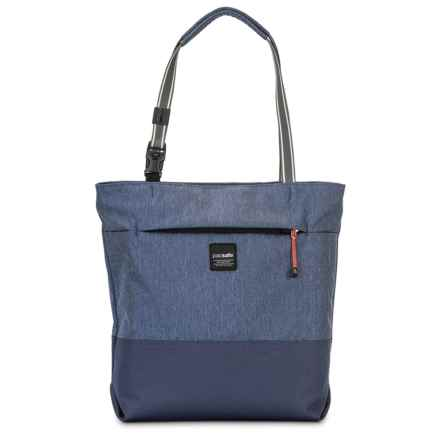 Pacsafe Slingsafe® LX200 Anti-Theft Compact Tote Bag in Denim - Closeouts