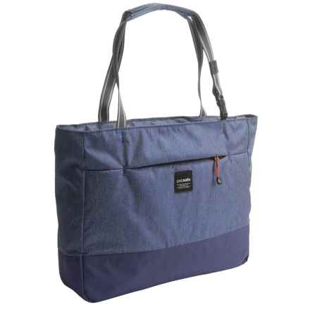 Pacsafe Slingsafe® LX250 Anti-Theft Tote Bag in Denim - Closeouts