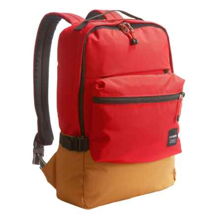 Pacsafe Slingsafe® LX350 Anti-Theft Compact Backpack - 16L in Chili - Closeouts