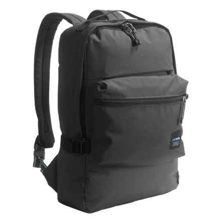Pacsafe Slingsafe® LX350 Anti-Theft Compact Backpack in Black - Closeouts