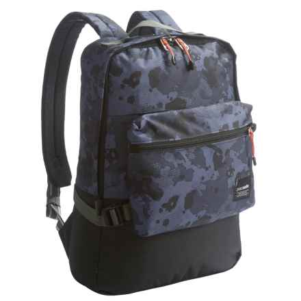 Pacsafe Slingsafe® LX350 Anti-Theft Compact Backpack in Grey Camo - Closeouts