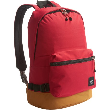 Pacsafe Slingsafe® LX400 Anti-Theft Backpack in Chili