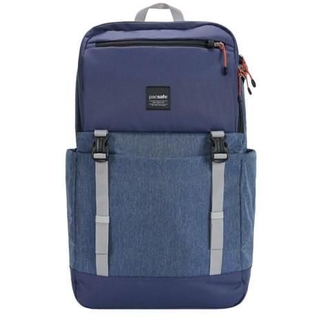 Pacsafe Slingsafe Lx500 Anti-Theft 21L Backpack in Denim