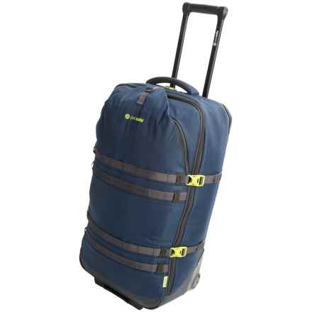"Pacsafe Toursafe EXP Rolling Suitcase - 34"" in Navy Blue - Closeouts"