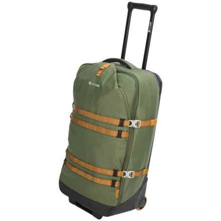 "Pacsafe Toursafe EXP Rolling Suitcase - 34"" in Olive/Khaki - Closeouts"