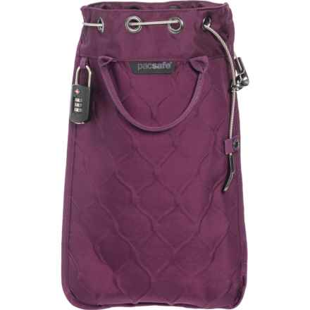 """Pacsafe Travelsafe 5L GII Portable Safe - 16.75x10.43x1"""" in Currant - Closeouts"""