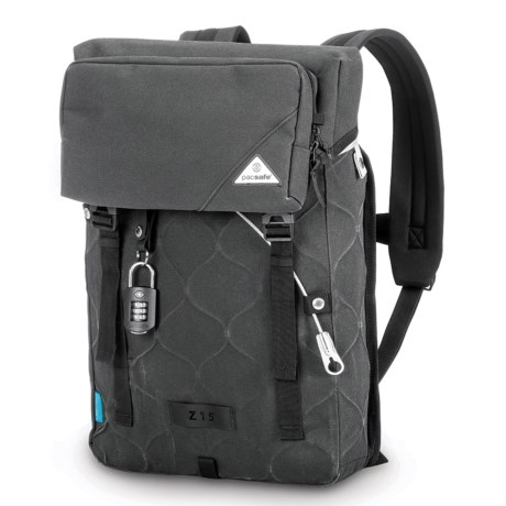 Pacsafe Ultimatesafe® Z15 Anti-Theft 12L Backpack in Charcoal
