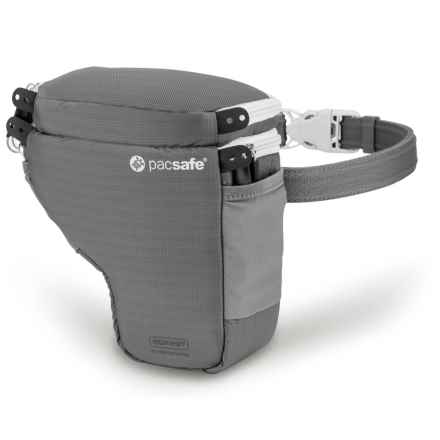 Pacsafe V2 Anti-Theft Camera Holster in Storm Grey - Closeouts
