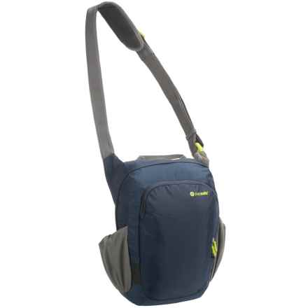 Pacsafe Venturesafe 300 GII Anti-Theft Vertical Travel Bag in Navy Blue - Closeouts