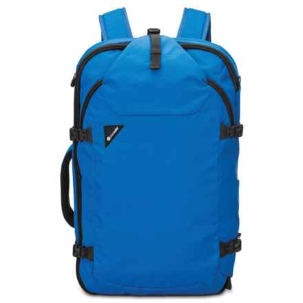 Pacsafe Venturesafe Exp45 Anti-Theft 45L Travel Backpack in Blue - Closeouts