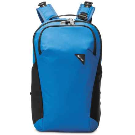 Pacsafe Vibe 20 Anti-Theft Backpack - 20L in Blue - Closeouts
