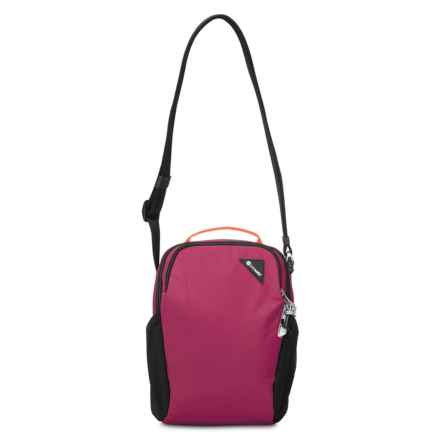 Pacsafe Vibe 200 Anti-Theft Compact Travel Bag in Dark Berry - Closeouts