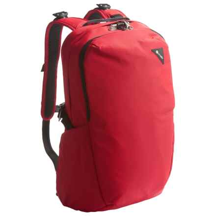 Pacsafe Vibe 25 Anti-Theft Backpack - 25L in Red - Closeouts