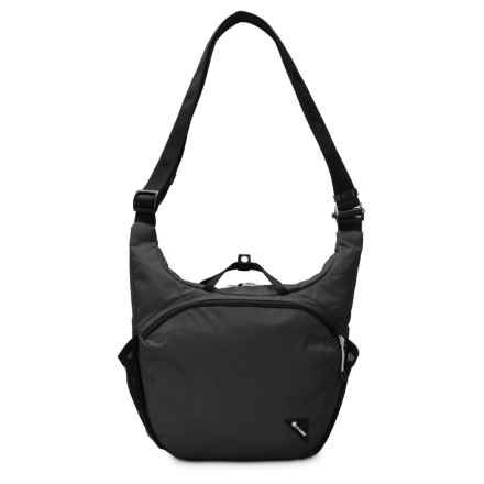 Pacsafe Vibe 350 Anti-Theft Shoulder Bag in Black - Closeouts