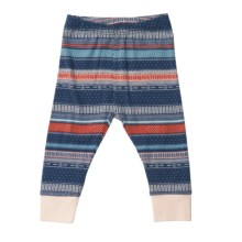 Pact Cuffster Pants - Stretch Organic Cotton (For Infants) in Navy Harvest - Closeouts