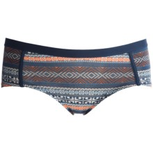 Pact Essentials Organic Cotton Boy Shorts - Underwear, Organic Cotton (For Women) in Fair Isle - Closeouts