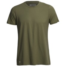 Pact Essentials T-Shirt - Organic Cotton-Modal, Short Sleeve (For Men) in Olive - Closeouts