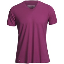 Pact Share The Love T-Shirt - Organic Cotton-Modal, Short Sleeve (For Men) in Fuchsia - Closeouts