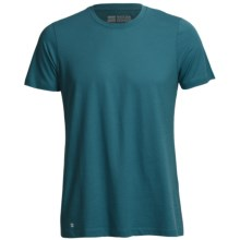 Pact Share the Love T-Shirt - Organic Cotton-Modal, Short Sleeve (For Men) in Teal - Closeouts