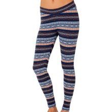 PACT Stretch Cotton Leggings (For Women) in Fair Isle - Closeouts