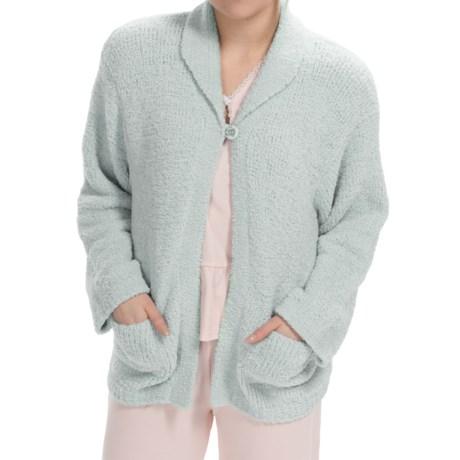 Paddi Murphy Marshmallow Soft Cardigan Sweater (For Women)