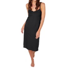 Paddi Murphy Softies Cleo Nightgown - Spaghetti Strap (For Women) in Black - Closeouts