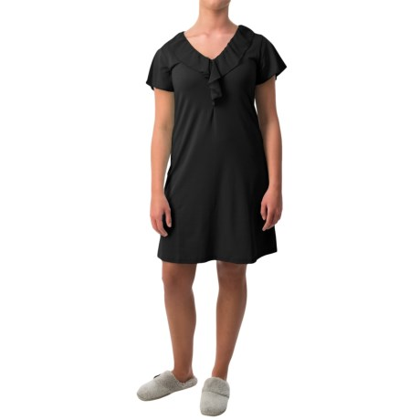 Paddi Murphy Softies Ellie Nightgown Short Sleeve For Women