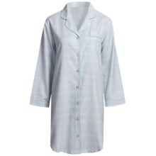 Paddi Murphy Softies Heidi Nightshirt - Long Sleeve (For Women) in Blue - Closeouts