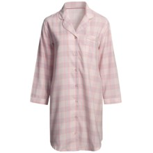 Paddi Murphy Softies Heidi Nightshirt - Long Sleeve (For Women) in Pink - Closeouts