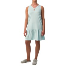 Paddi Murphy Softies Marissa Nightgown - Sleeveless (For Women) in Aqua - Closeouts