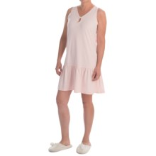 Paddi Murphy Softies Marissa Nightgown - Sleeveless (For Women) in Peach - Closeouts